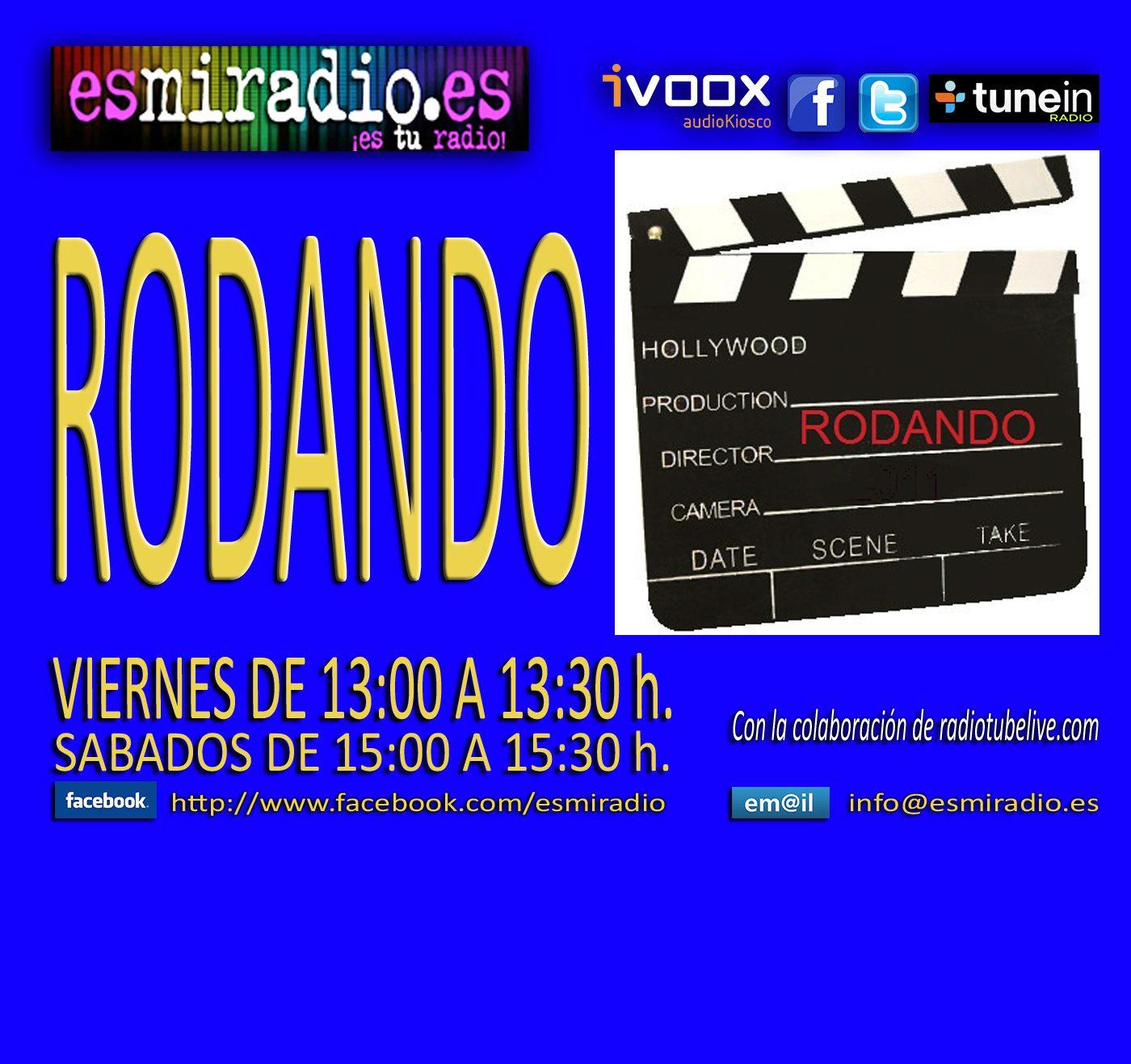 """""""Rodando"""" en esmiradio.es"""