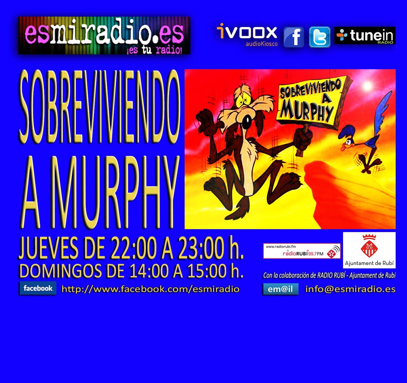 """""""Sobreviviendo a Murphy"""" en esmiradio.es"""