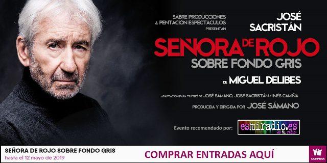 José Sacristán Teatre Romea esmiradio
