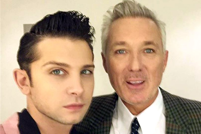 Ross William Wild con Martin Kemp a quien se ha unido en la banda Spandau Ballet
