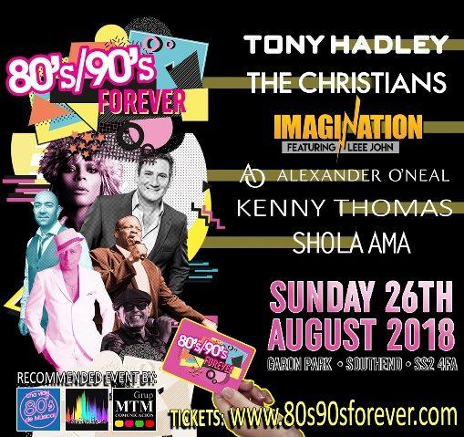 80's & 90's Forever Festival 2018