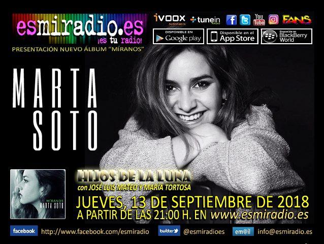 Marta Soto en esmiradio.es el 13/09/18