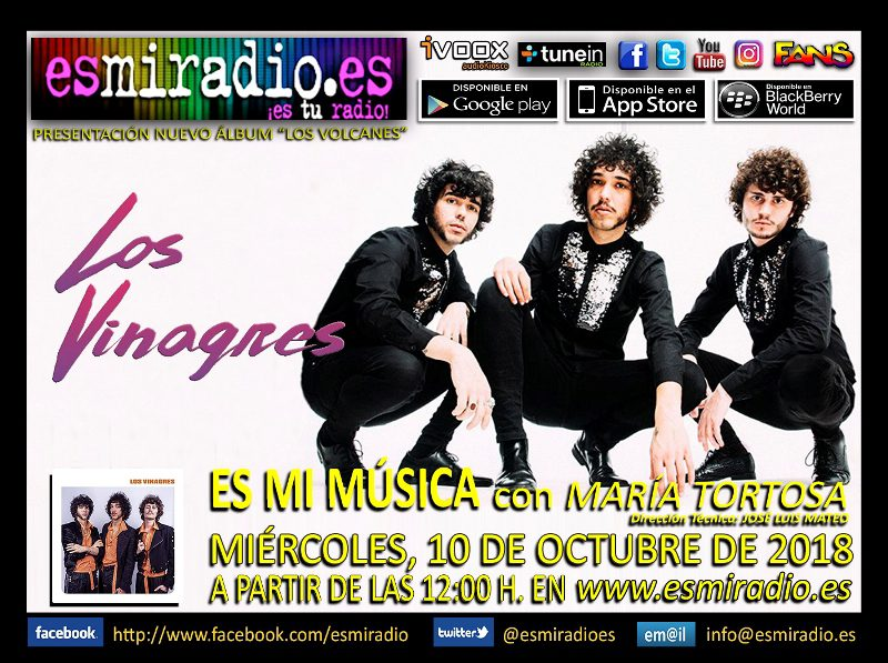 Los Vinagres 101018 esmiradio
