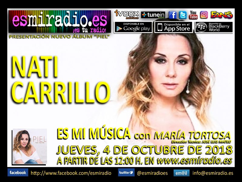 Nati Carrillo 041018 esmiradio