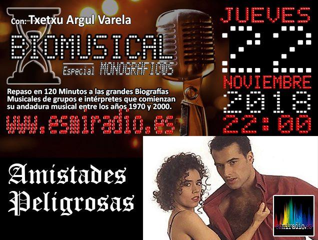Biomusical Amistades Peligrosas