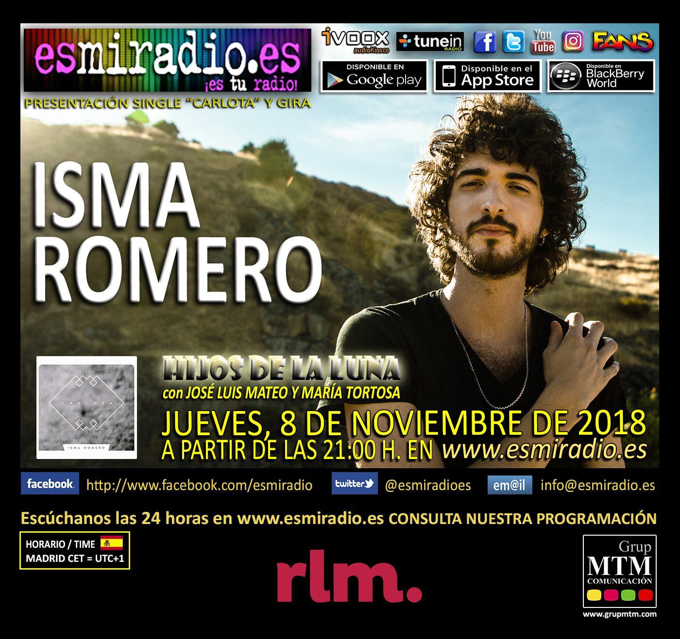 Isma Romero 081118 esmiradio