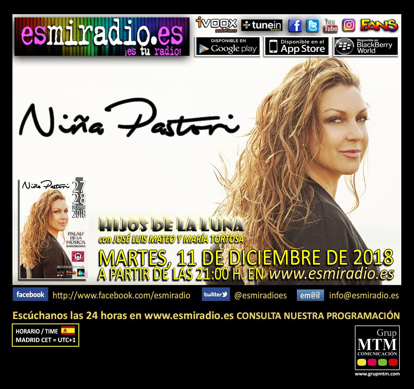 Niña Pastori 111218 esmiradio