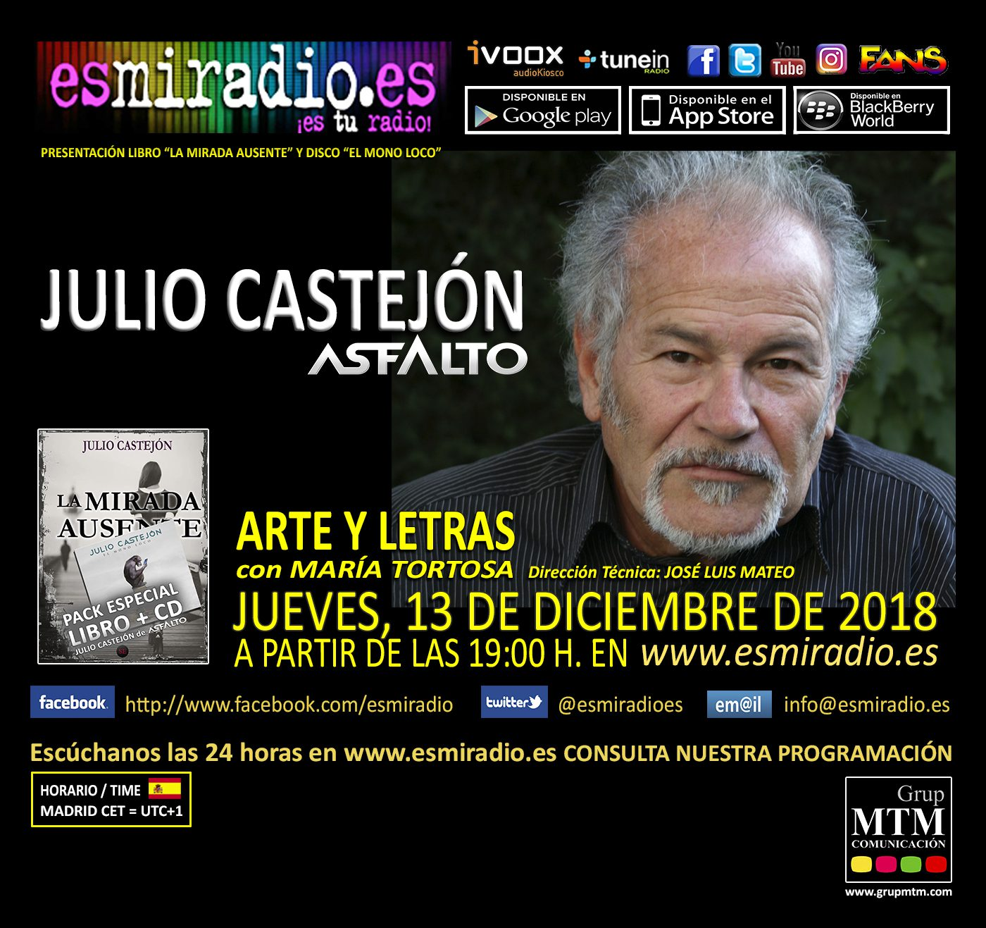 Julio Castejón 131218 - esmiradio