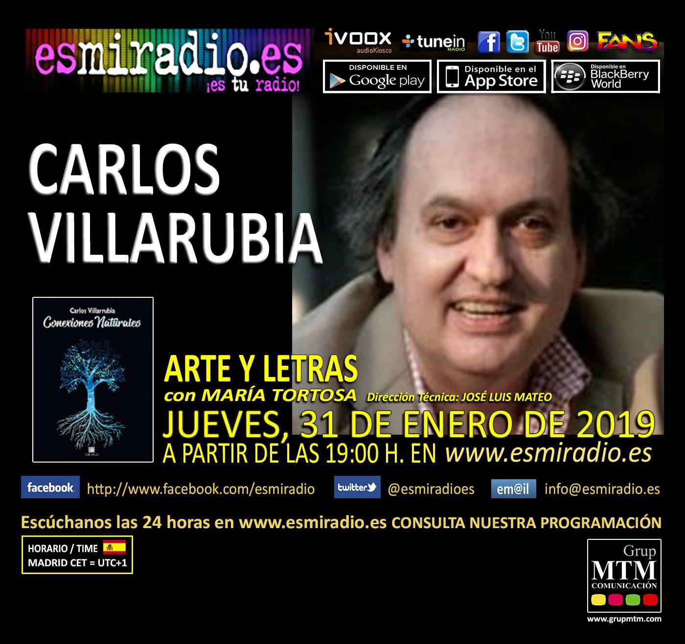 Carlos Villarrubia 310119 - esmiradio