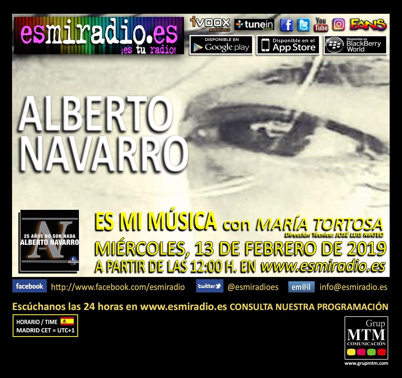 Alberto Navarro 130219 esmiradio - 12h