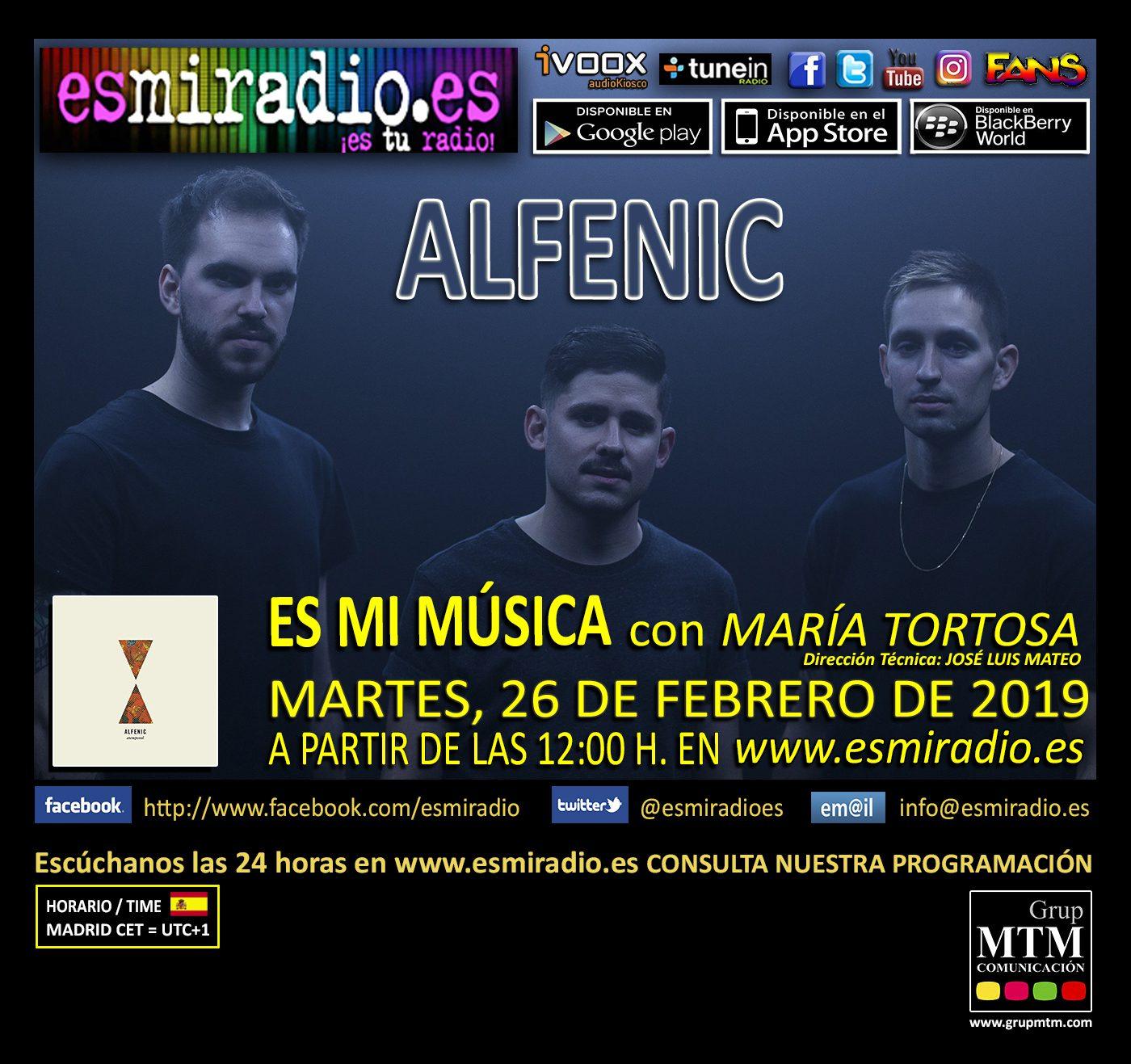 Alfenic en esmiradio.es el Martes, 26 de Febrero de 2019