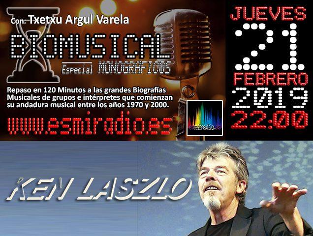 Biomusical Ken Laszlo - esmiradio.es