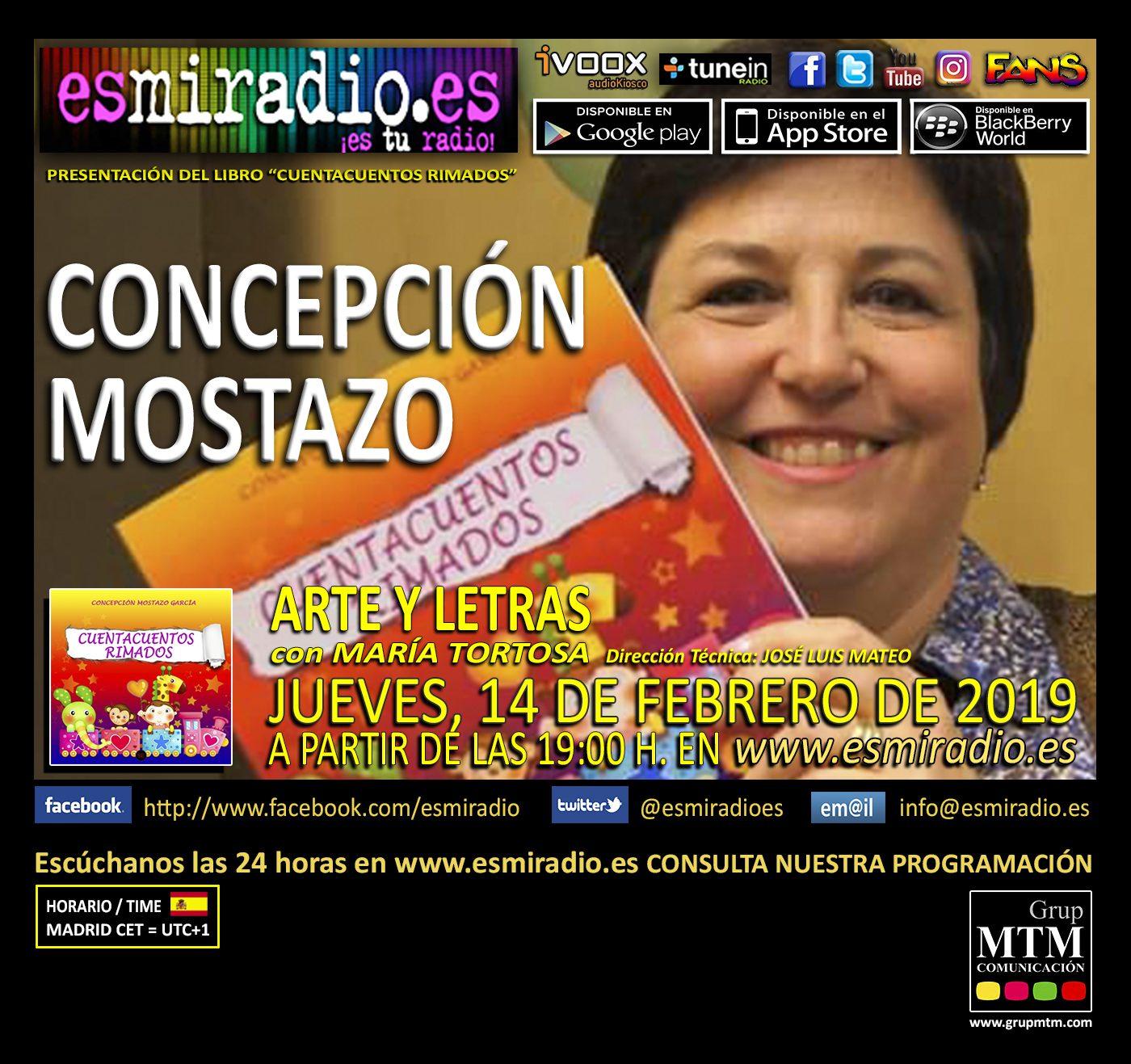 Cuentacuentos Rimados – Concepción Mostazo García
