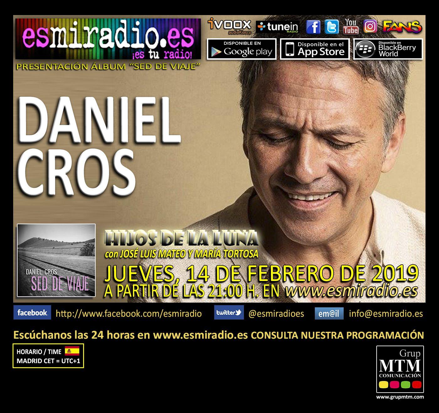 Daniel Cros 14/02/19 en esmiradio