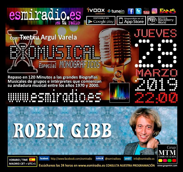 Biomusical Robin Gibb 280319