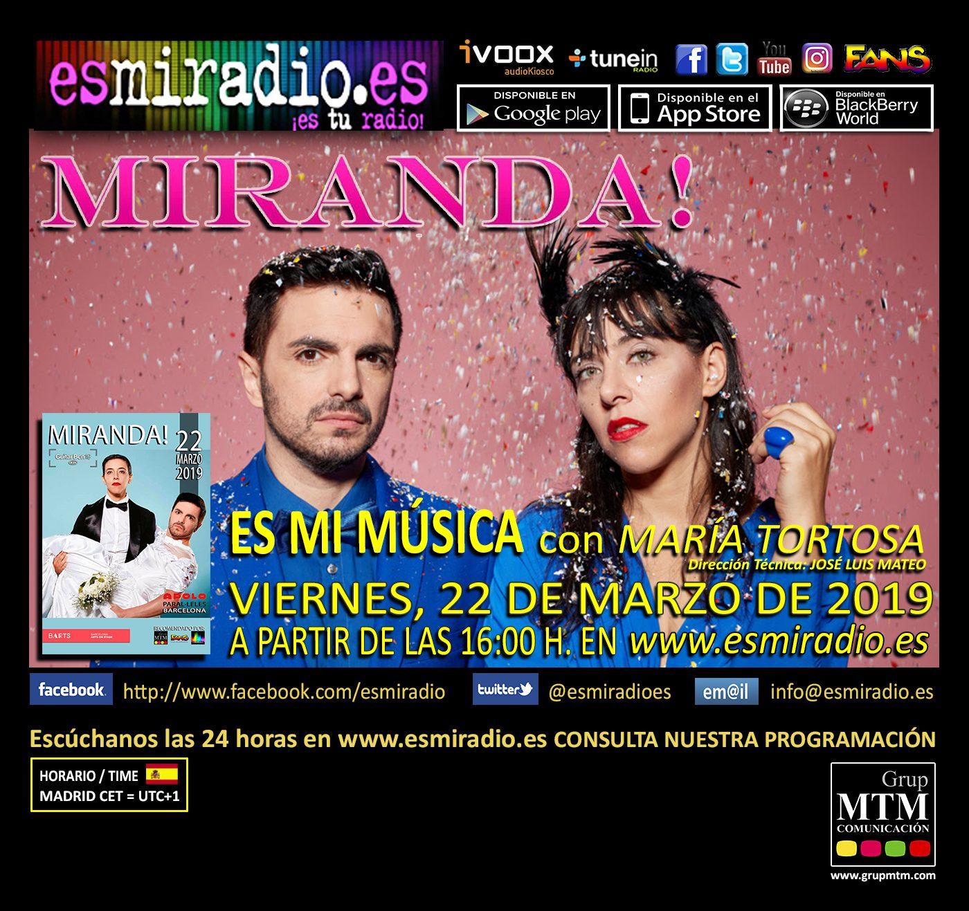 Miranda 22/03/19 esmiradio