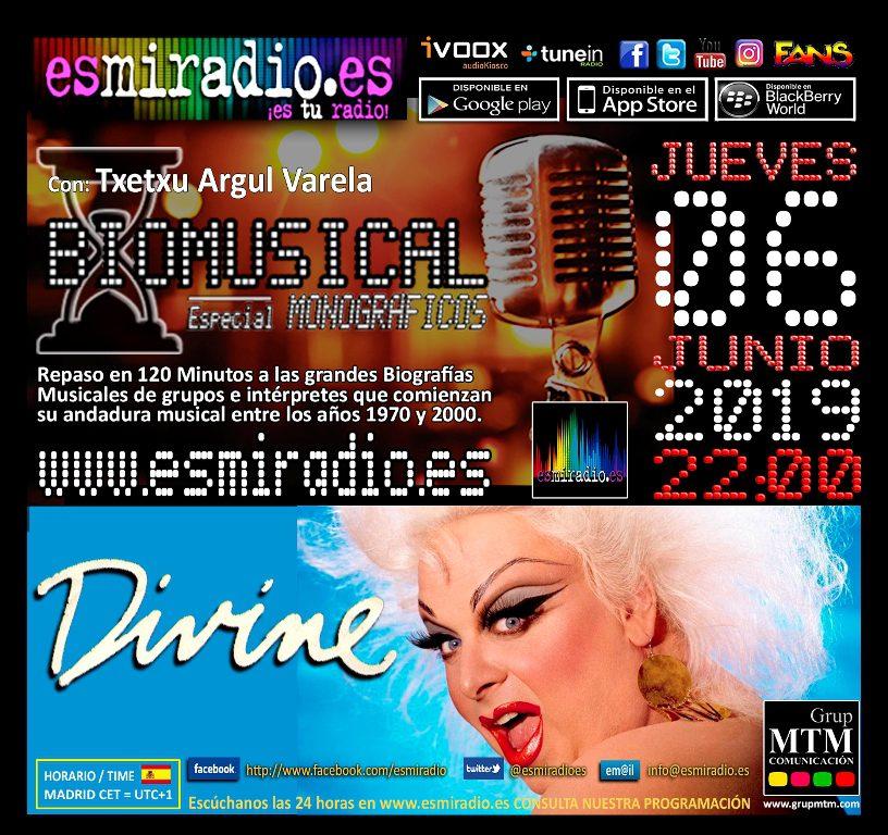 Biomusical Divine el Jueves, 6 de Junio de 2019