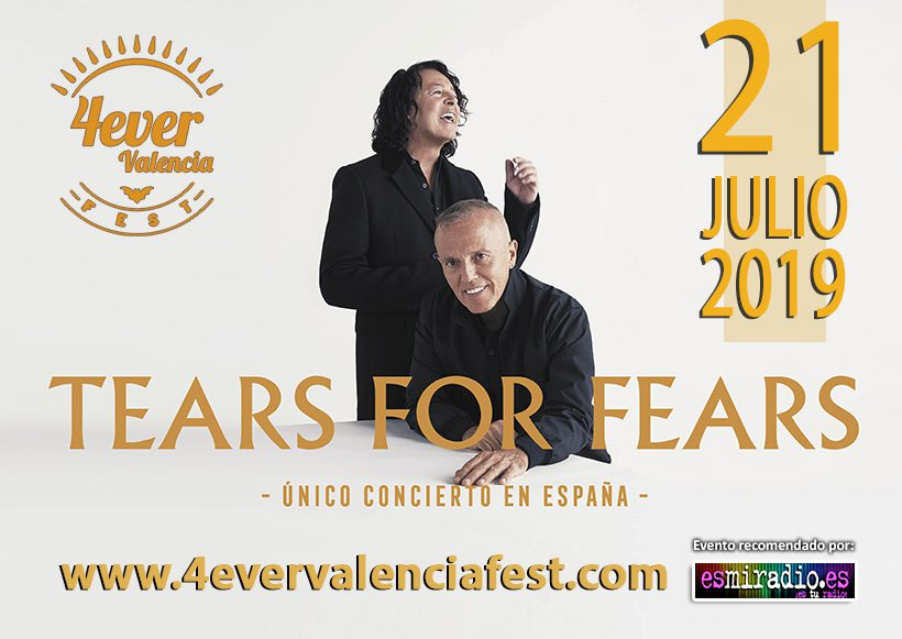 Tears for fears 4ever Valencia Fest 2019