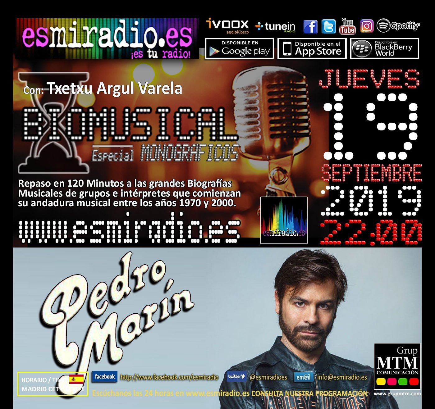 Biomusical Pedro Marín
