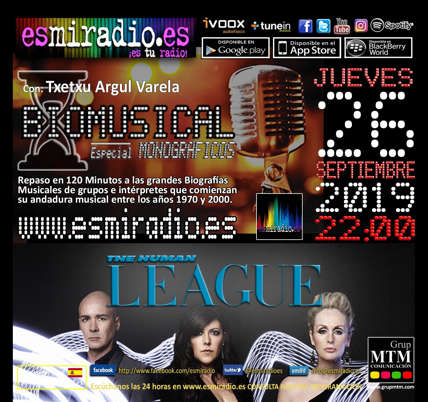 Biomusical The Human League