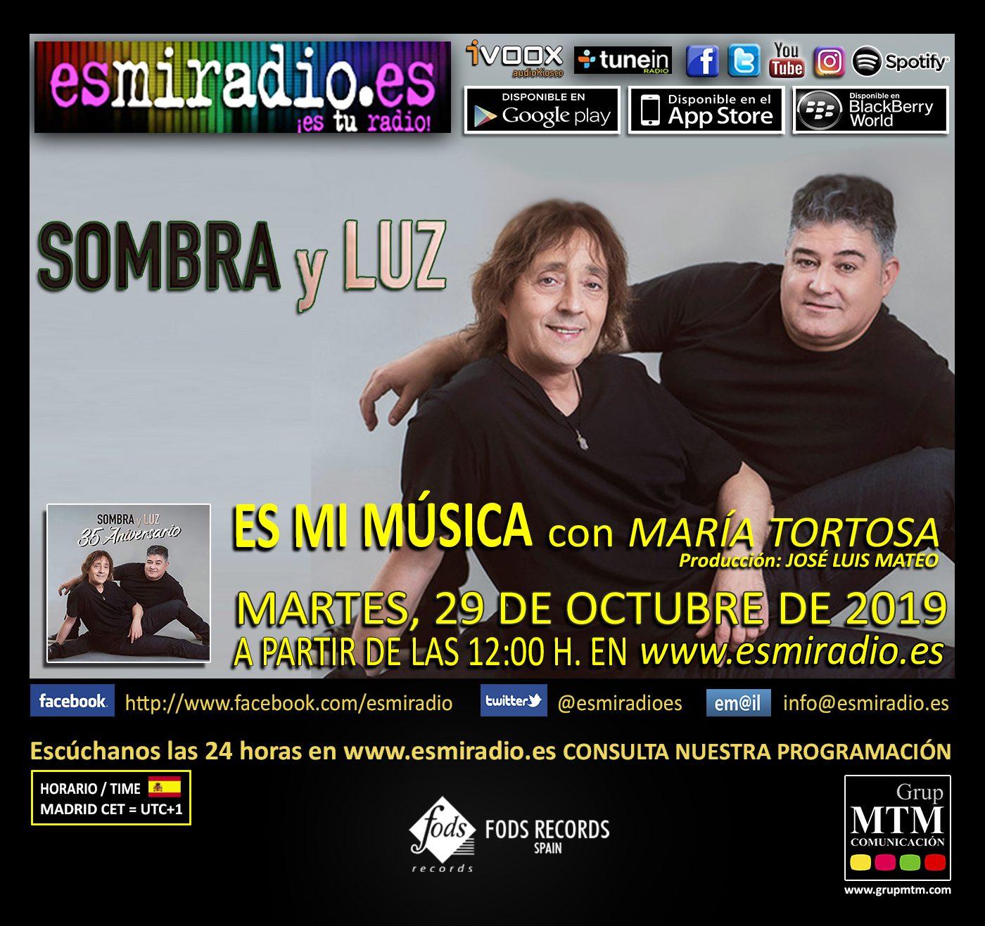 Sombra y Luz 291019 esmiradio