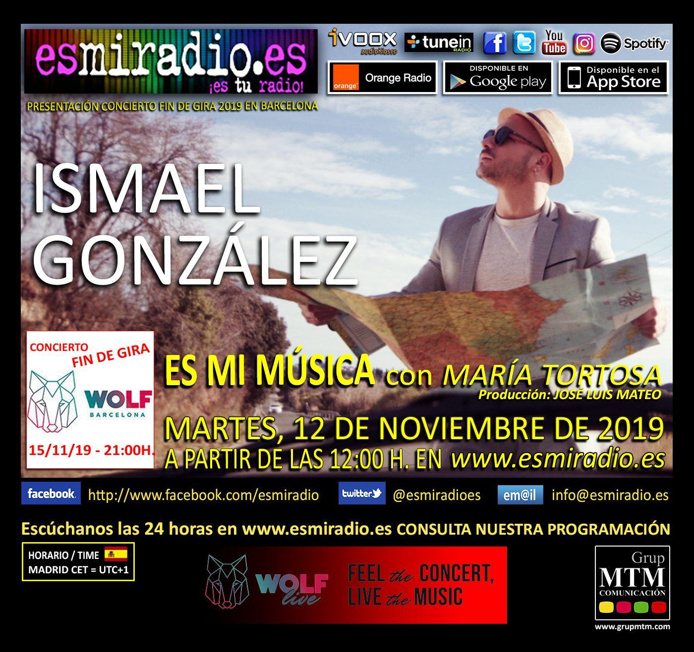 Ismael González esmiradio