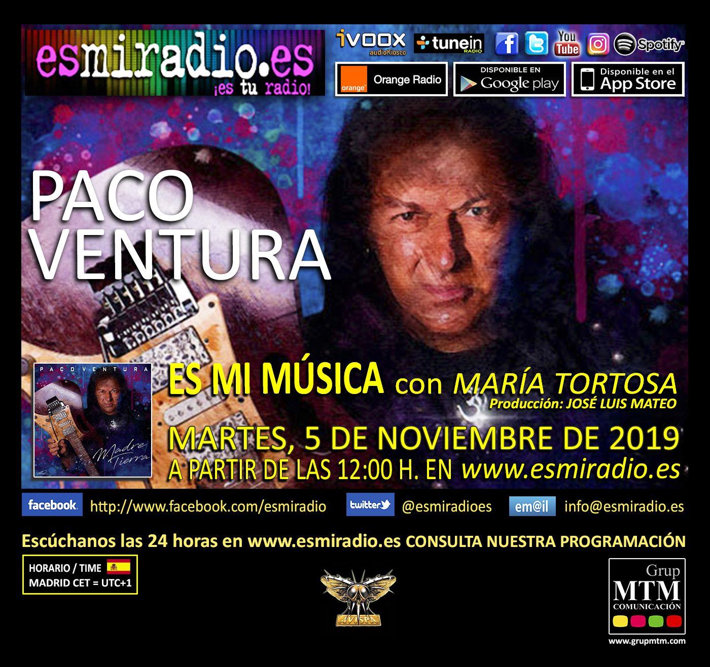 Paco Ventura esmiradio