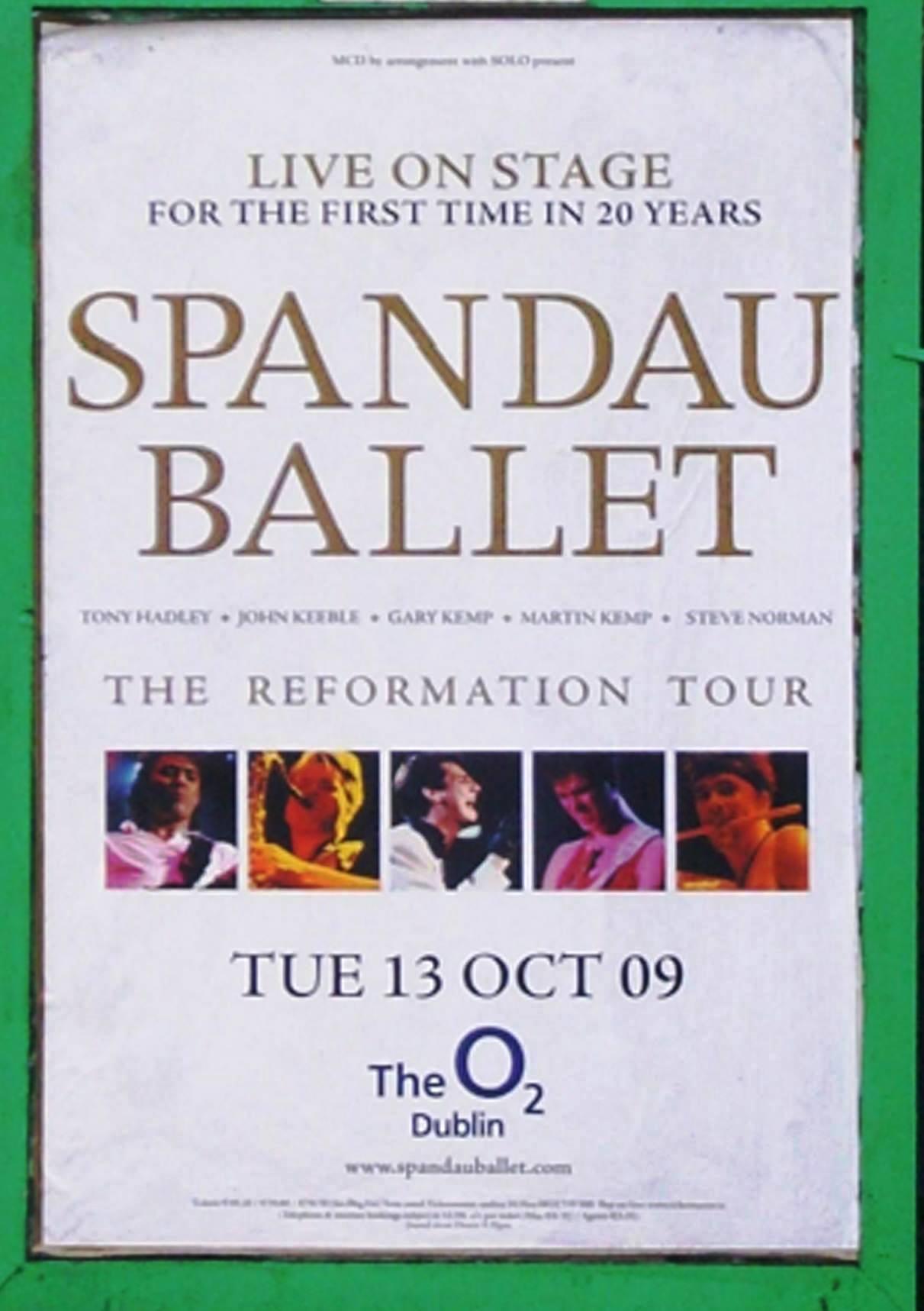 De Gira con Spandau Ballet